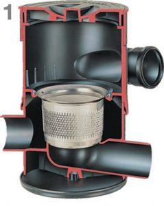 WFF 100 vortex filter