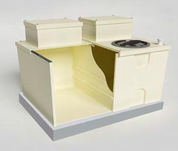Insulated break tank
