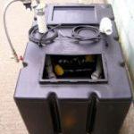 Rainwater header tank