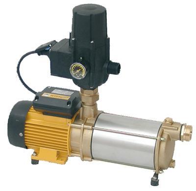 Water pump self-priming, suction