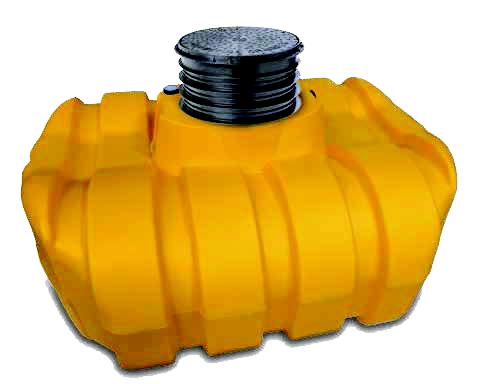 Easy-rain 1500 litre shallow dig tank